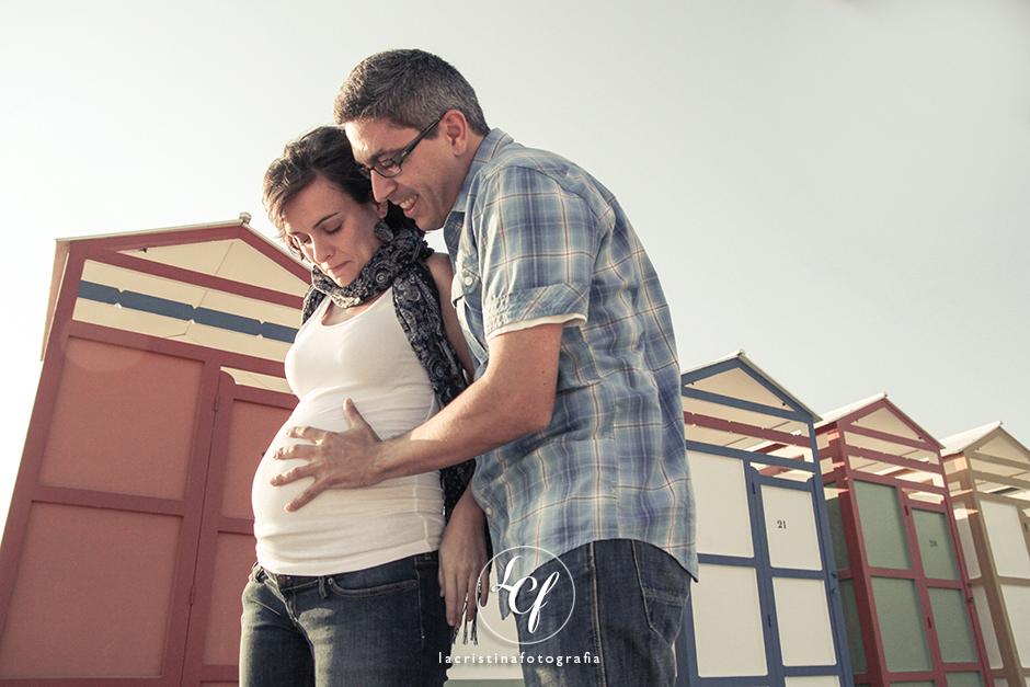 Fotografía embarazo Barcelona :: Reportaje embarazada Barcelona