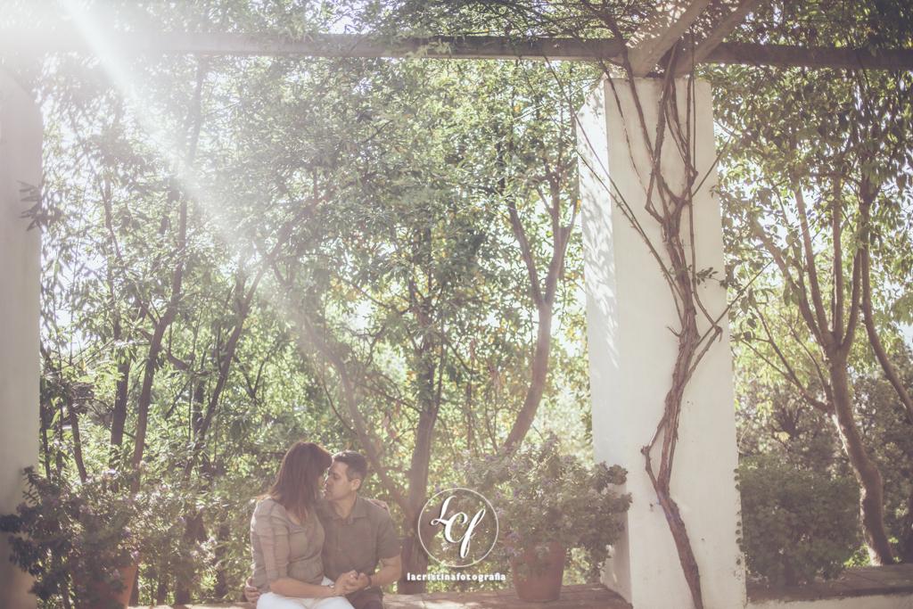 Fotografía de pareja :: Fotografía postboda :: Sesión romántica :: Sesión Montjuic :: Reportaje recién casados