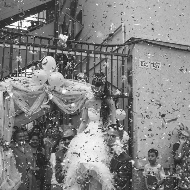Premios LUX 2013 :: Premios fotografía :: AFP :: DHUB :: Barcelona :: Boda Gitana :: Gitanos de la Mina :: Gitanos de Sant Roc