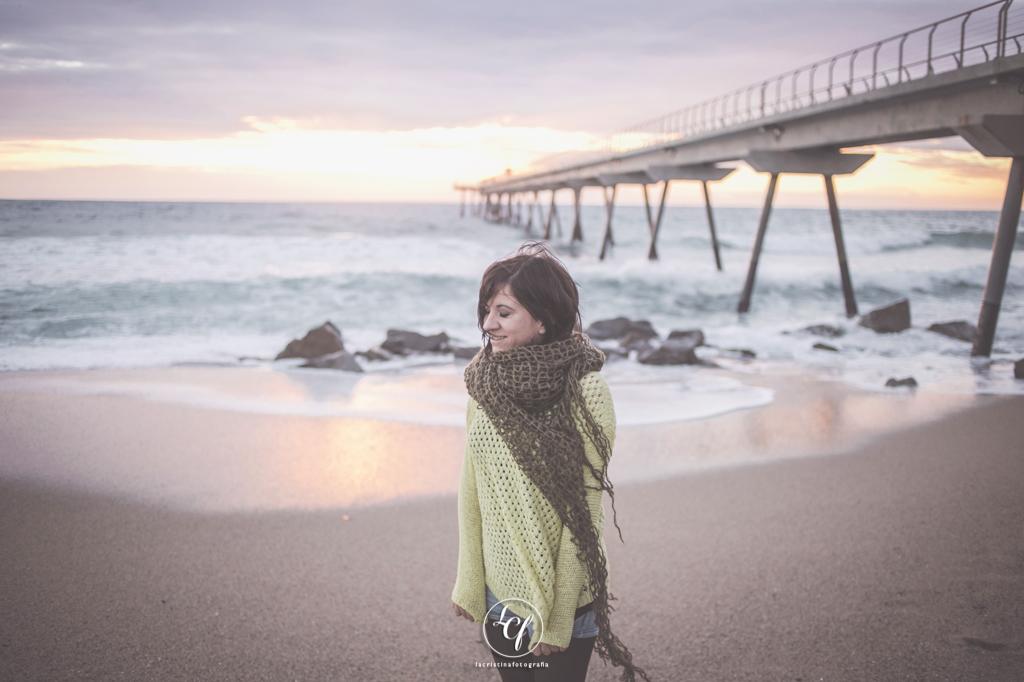 Fotografía retrato badalona :: Reportaje book fotográfico Barcelona :: Retrato playa :: Retrato Badalona :: Pont del Petroli