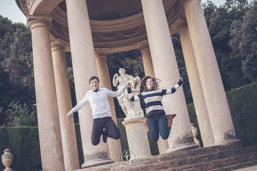 Fotografía de pareja :: Reportaje de preboda :: Sesión romática Barcelona :: Fotografía Barcelona :: Fotografía pareja Navidad