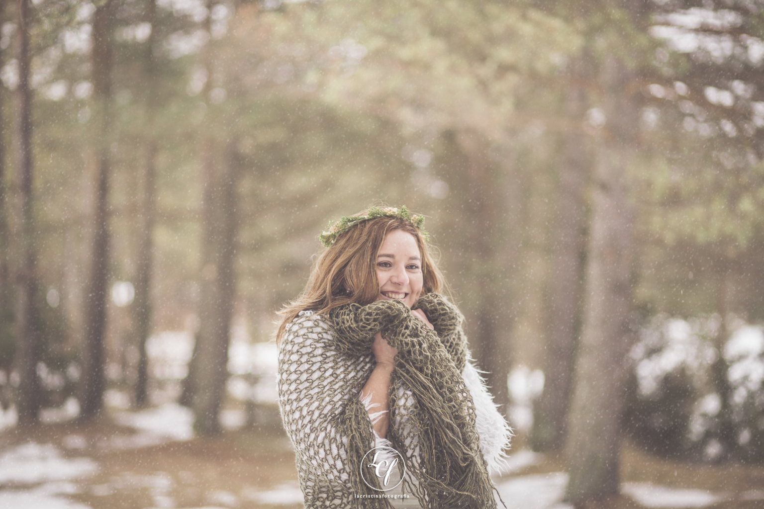 nieve, postboda, invierno, trash the dress, snow postboda barcelona