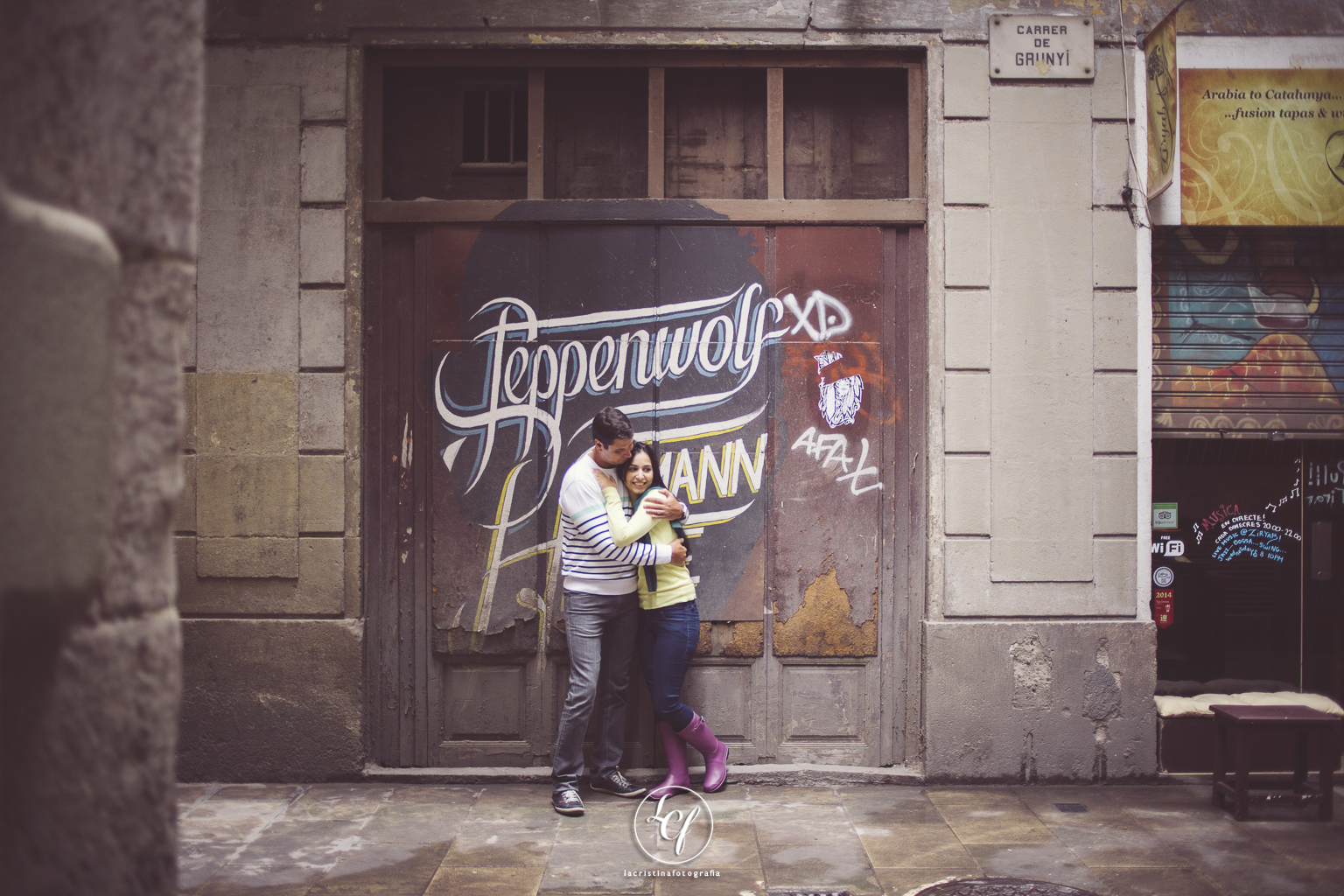 Fotografia preboda Barcelona :: Fotografía Barcelona :: Reportaje barrio gótico :: Reportaje parque del laberinto