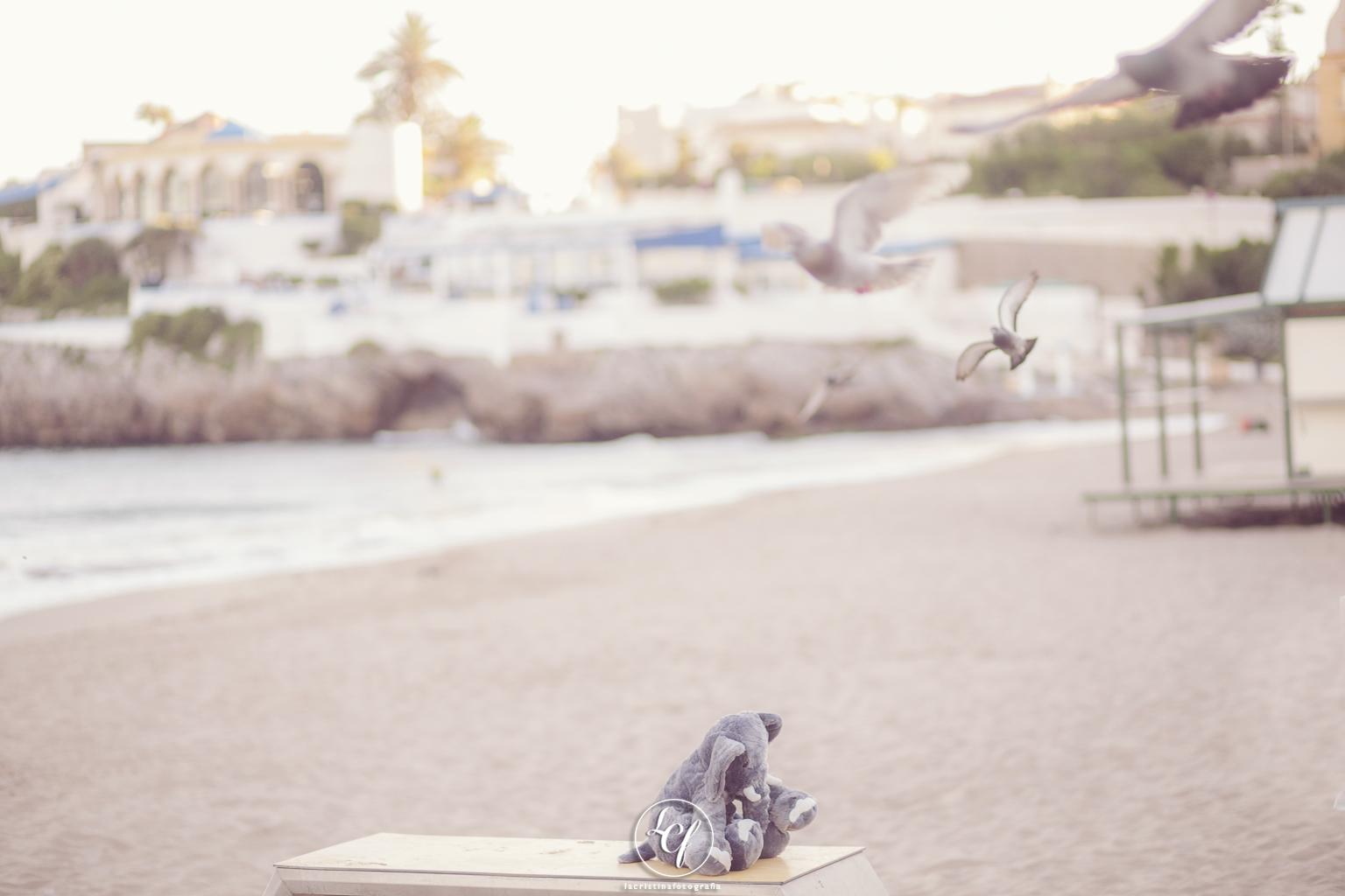 Fotografía embarazada Barcelona :: Les casetes del Garraf