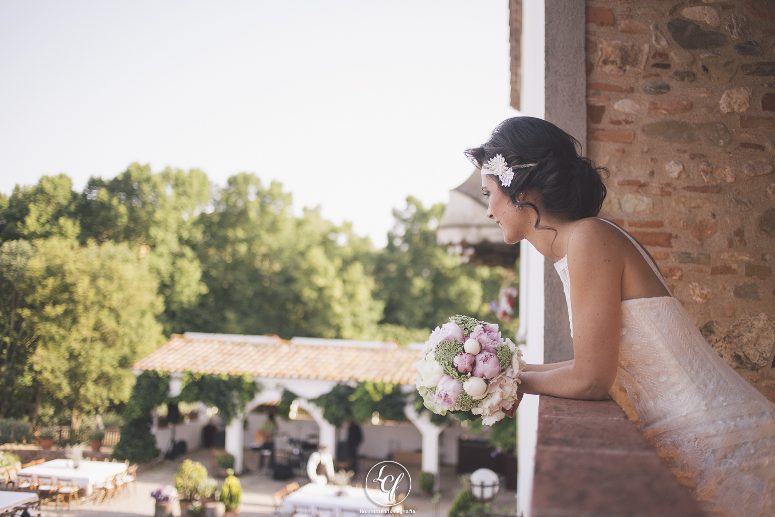 Fotógrafo de boda Barcelona :: Fotografía de boda en Barcelona :: Boda en una masía :: Fotografía de boda natural