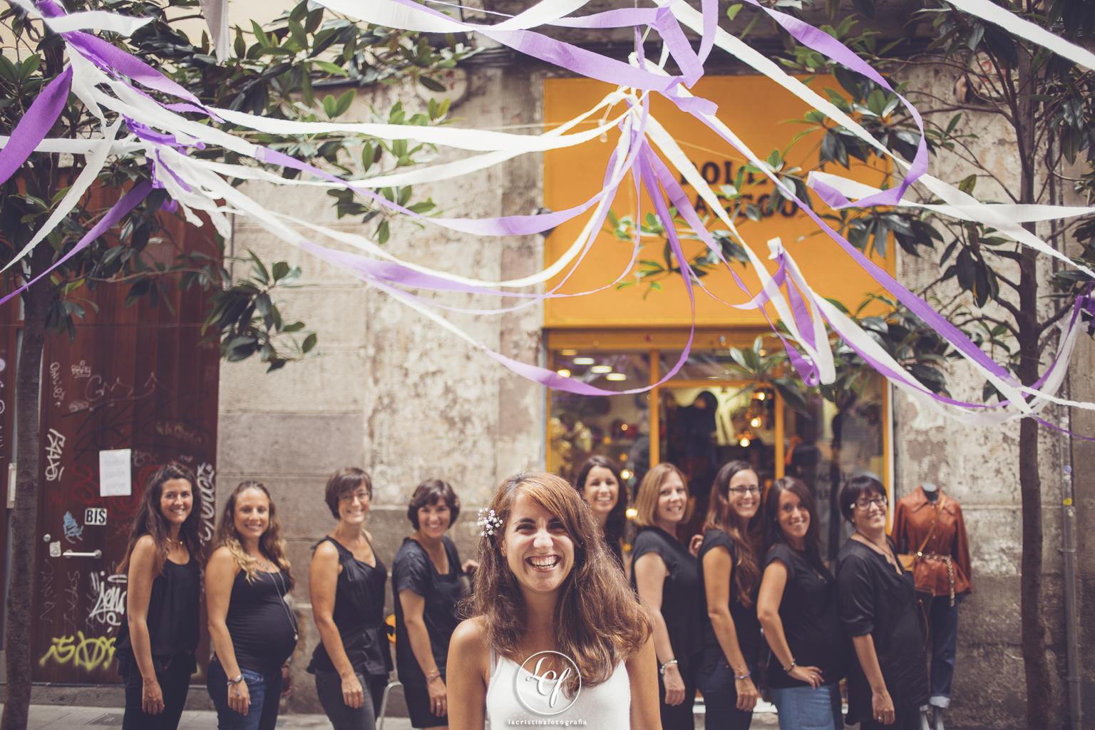 reportaje despedida de soltera barcelona :: fotografías despedida de soltera :: reportaje barcelona
