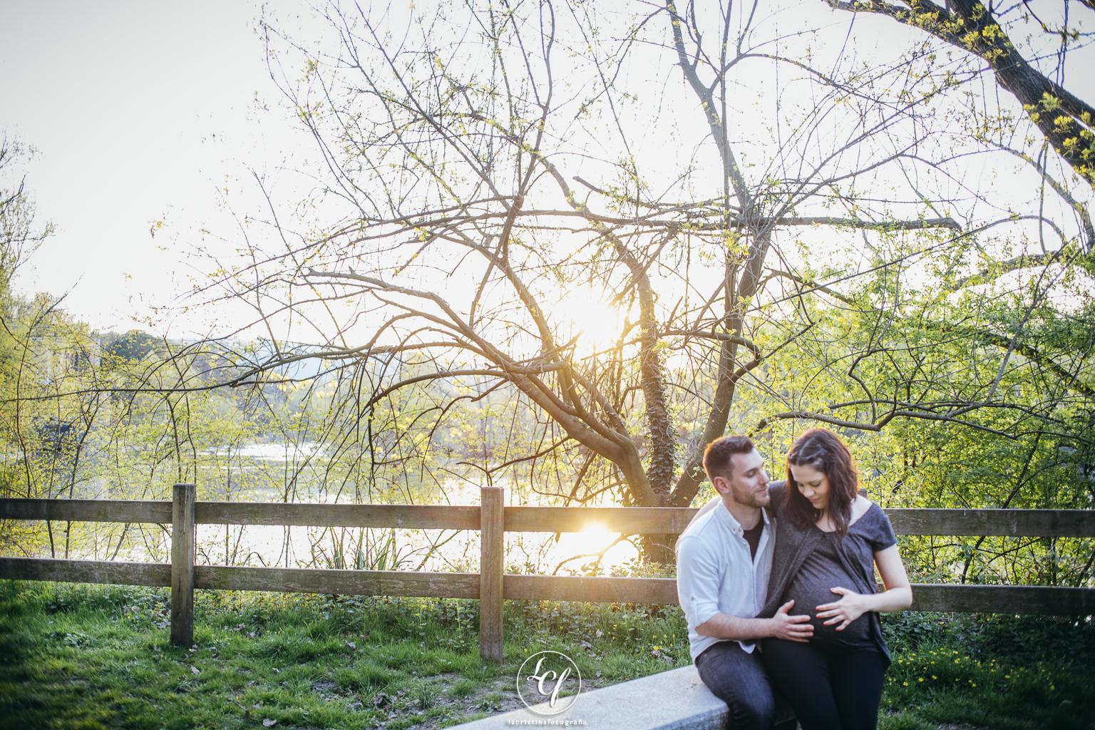 Fotógrafo embarazo :: Esperando a Adam