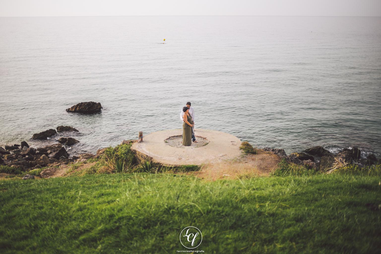 Fotógrafo embarazo :: Pont del petroli, Badalona