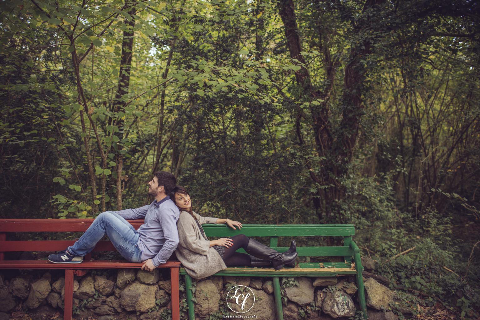 fotógrafo de pareja :: fotografía romántica :: fotógrafo de preboda :: fotógrafo de boda girona :: la fageda d'en jordà