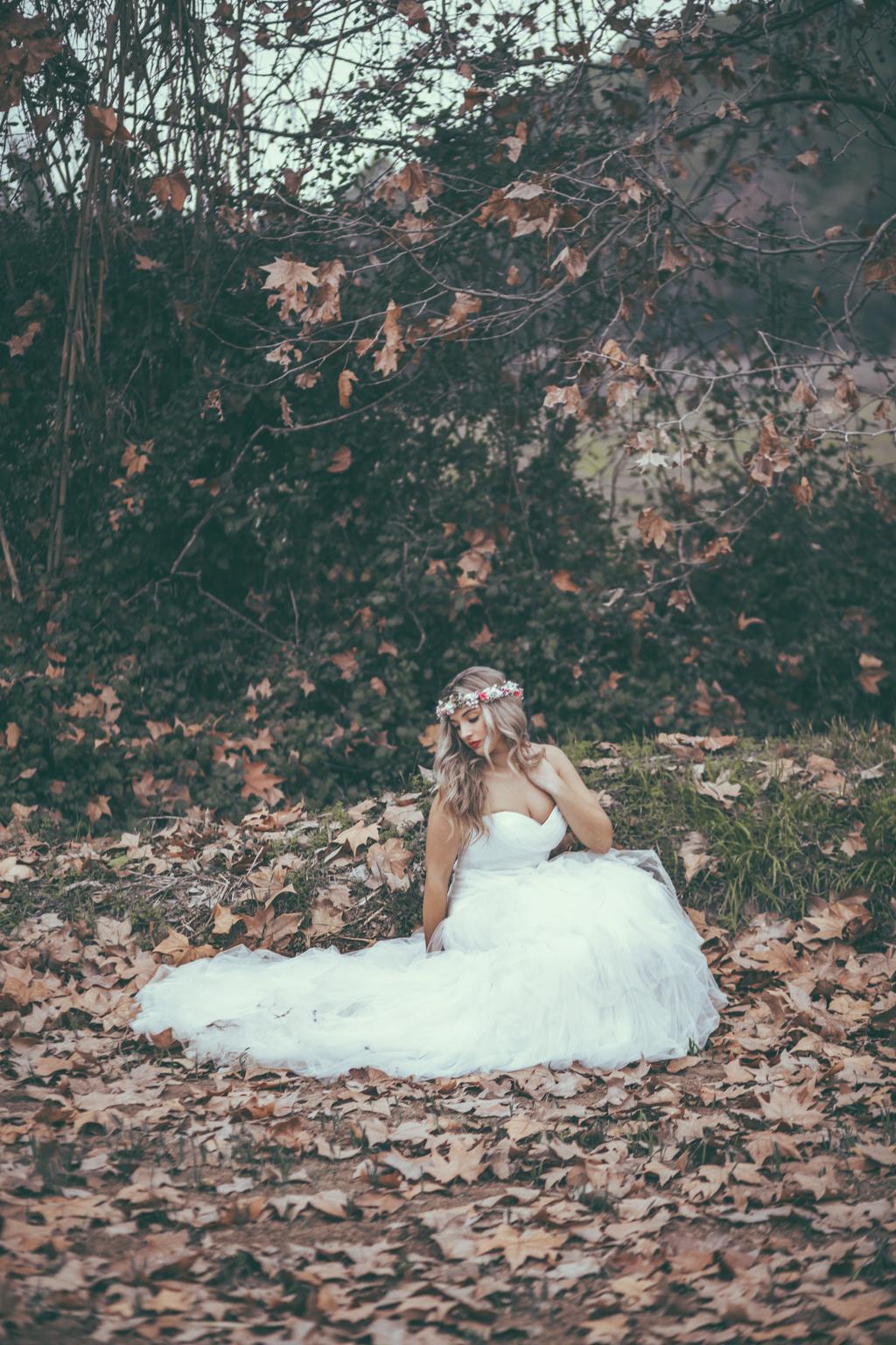 fotógrafo de bodas barcelona :: fotógrafo de boda :: fotografía de boda :: postboda en el campo :: postboda en invierno :: boda en invierno :: boda romántica