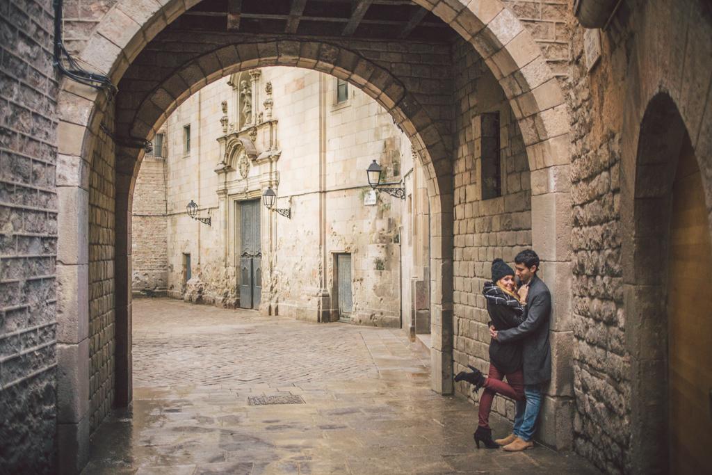 Fot grafo de parejas barcelona montjuic y el barrio - Fotografos de barcelona ...
