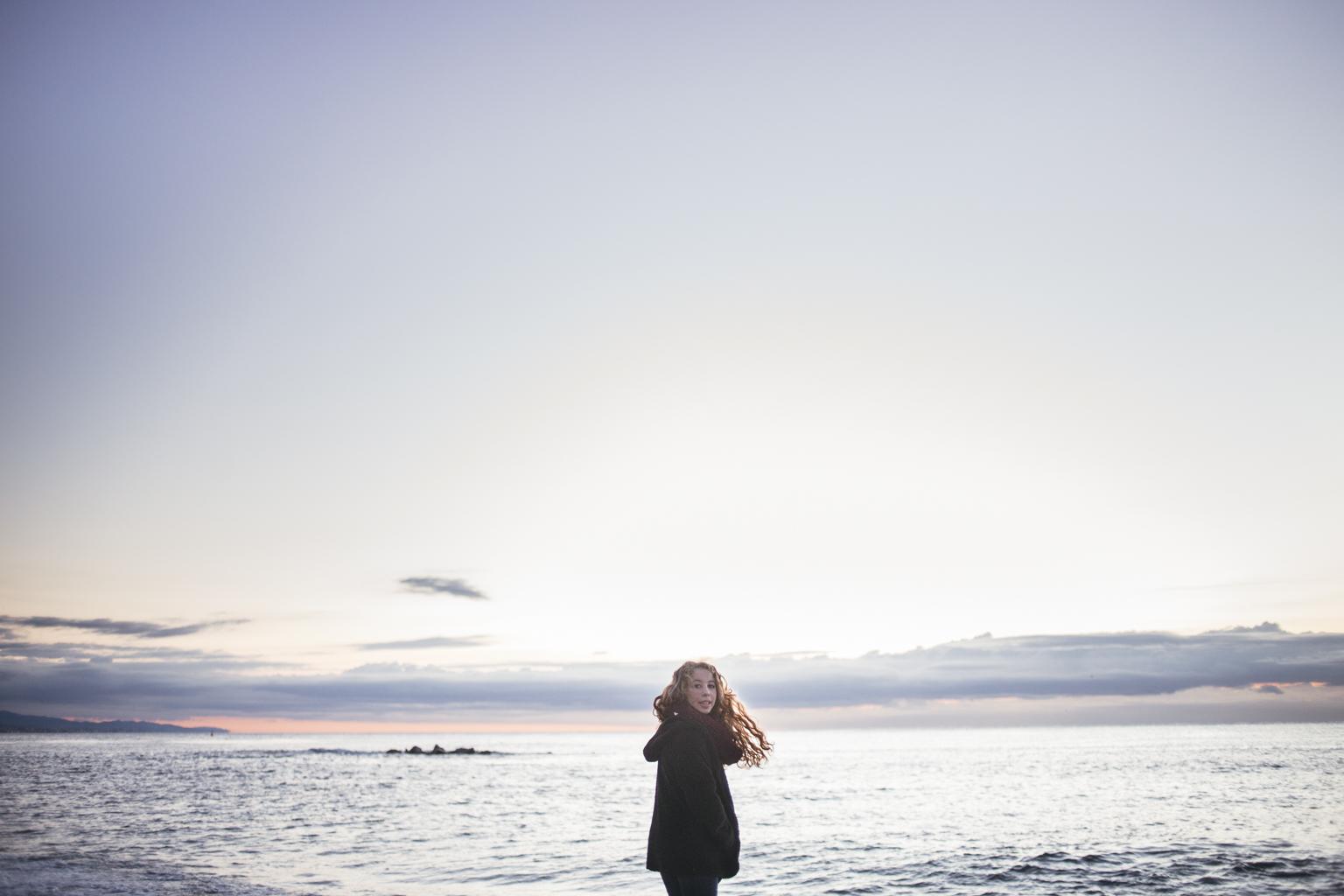 fotógrafo book personal barcelona :: amanecer en la playa :: fotografía book playa :: fotógrafo book playa