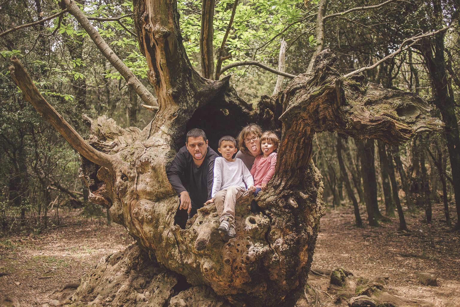 Fotógrafo de familia :: Hotel Sant Bernat - Montseny :: Fotografía familiar :: Bosque :: Montaña del Montseny :: Reportaje de familia en el bosque :: Familia en el bosque :: Familia en la montaña :: Fotografía natural de familia