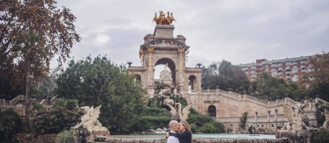 preboda en el parc de la Ciutadella