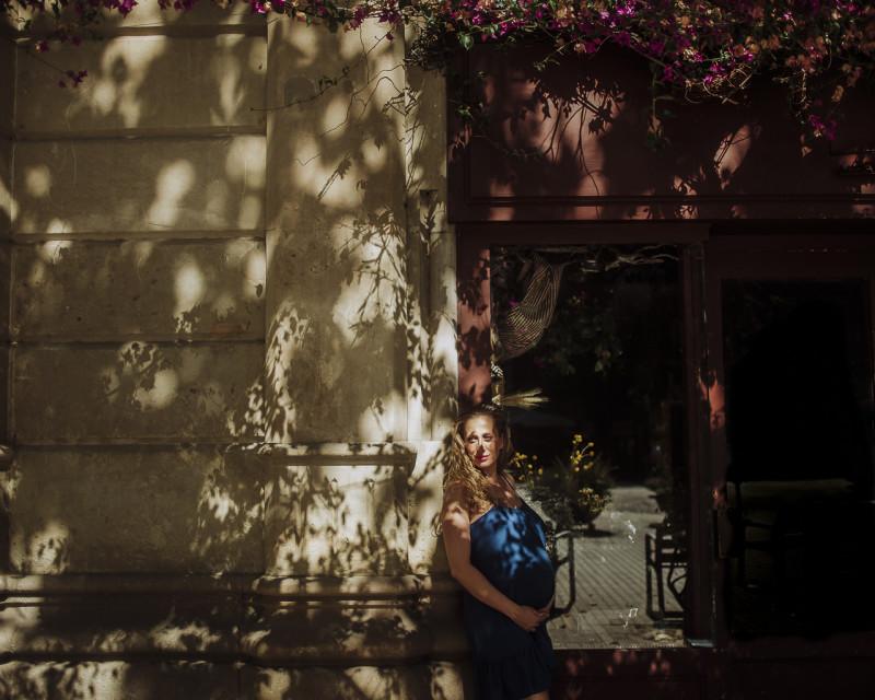 Fotógrafo de embarazo :: Eixample y paseo de Gracia