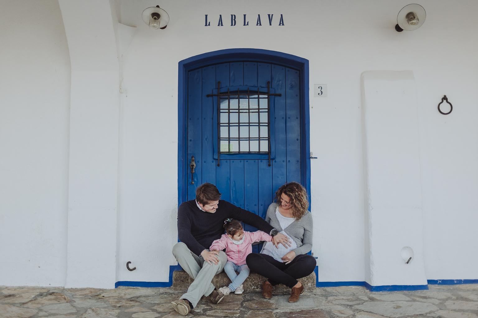 Fotógrafo embarazo barcelona :: Calella de palafrugell :: amanecer :: Fotografía costa brava :: embarazada :: fotógrafía embarazo :: fotógrafo de familia Sant Cugat