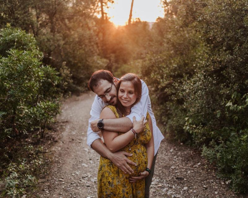 Fotógrafo embarazada Sant Cugat :: Embarazo La floresta :: fotógrafo embarazada